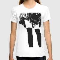 death note T-shirts featuring Death Note Girl by Yukikochild