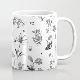 rosehip, chokeberries and teasel Coffee Mug