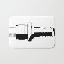 Auto Spark Plug Bath Mat