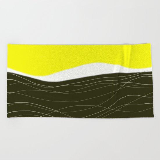 sunrise - design57 Beach Towel