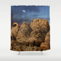 alabama Shower Curtains featuring Alabama Hills. by alex preiss