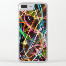 Fireworks Clear iPhone Case