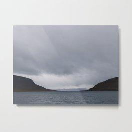 Westfjords - Iceland   landscape - arctic - mountains - nature - wall art - print - photo Metal Print