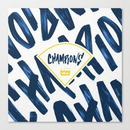 Champions  Canvas Print