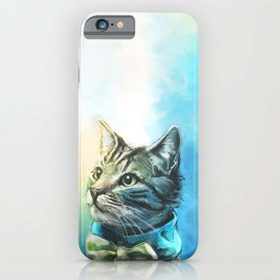 Handsome Cat iPhone & iPod Case