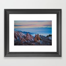 Roxborough Park Framed Art Print