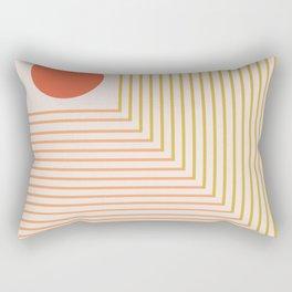 Lines & Circle 02 Rectangular Pillow