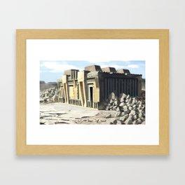 Post Apocalyptic Garda/Police Station Framed Art Print