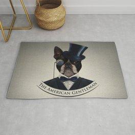 Boston Terrier  - The American Gentleman Rug