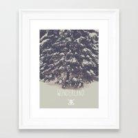 wonderland Framed Art Prints featuring Wonderland by Christine VanFonda