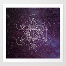 Star of Metatron Art Print