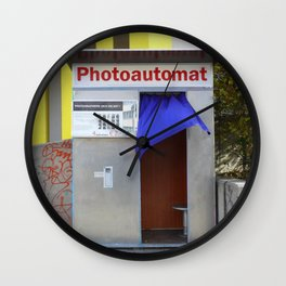 Berlin's old photo booths 03 Wall Clock