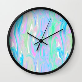 Iridescent Trend Wall Clock