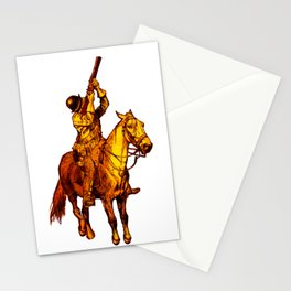 Horse Musket Soldier Stationery Cards