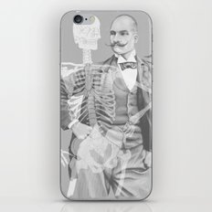 Crown Pursuit -- Black and White Variant iPhone & iPod Skin
