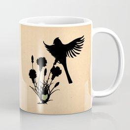 Ohio - State Papercut Print Coffee Mug