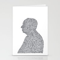 hitchcock Stationery Cards featuring Hitchcock by S. L. Fina
