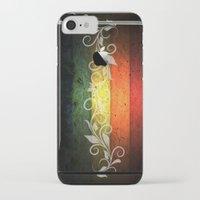 reggae iPhone & iPod Cases featuring Reggae Romantic by Ev@d Art$