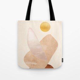 Abstact Shapes Tote Bag