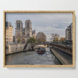 Notre Dame de Paris Serving Tray