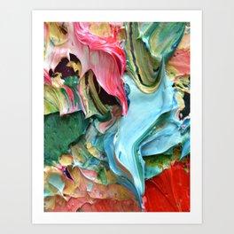 Fall Paint Frosting Art Print