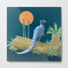 Eoraptor lunensis Metal Print