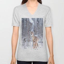 Bambi nature Unisex V-Neck
