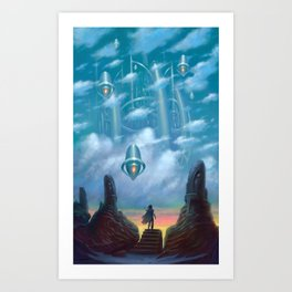 The Vault of Heaven Art Print