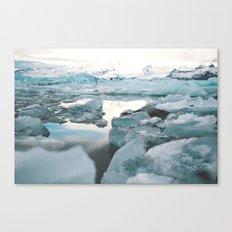 Iceland Glacier Lagoon | Jökulsárlón Canvas Print