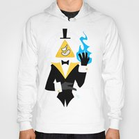bill cipher Hoodies featuring Cipher by Palolabg