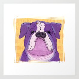 Bulldoggy Art Print