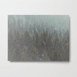 Summer hailstorm Metal Print
