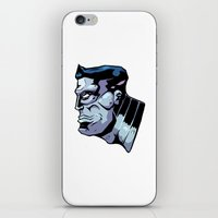xmen iPhone & iPod Skins featuring x15 by jason st paul