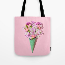 Flower Flurry I Tote Bag
