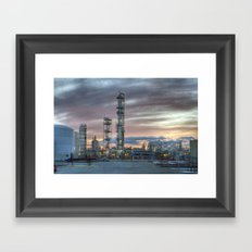 Industrial 5  Framed Art Print