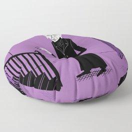 The Halloween Series - Nosferatu - Purple version Floor Pillow