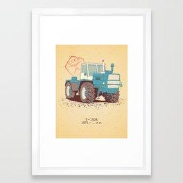 T 150K Framed Art Print