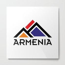 Armenia #decor #buyart #artprint Metal Print