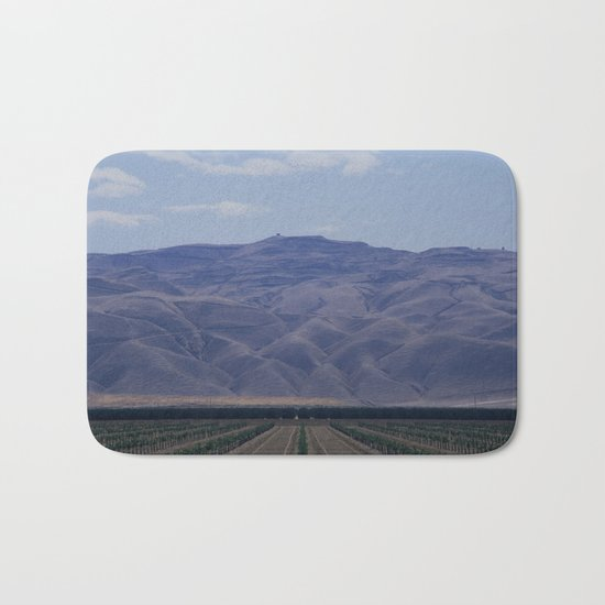 You Will Move Mountains Bath Mat