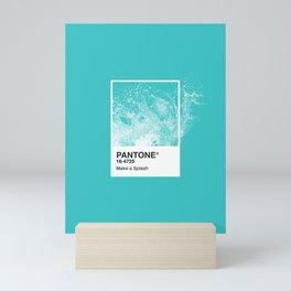 PANTONE SERIES – SPLASH Mini Art Print