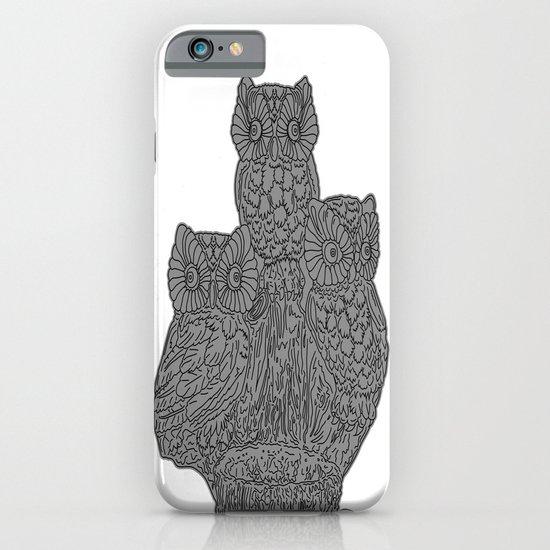 Three Owls iPhone & iPod Case