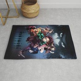 Blade of Demon Destruction Poster Rug