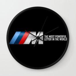 BMW M PERFORMANCE Wall Clock