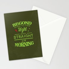 Second Star to the Right - Peter Pan Stationery Cards