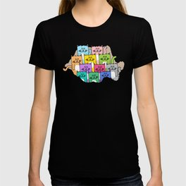 Meow-mania, the land of cats T-shirt