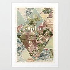 Explore - II Art Print