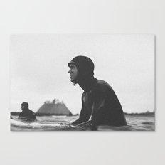 Surfing La Push, Washington USA Canvas Print