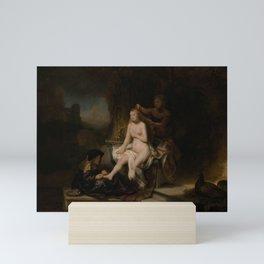 "Rembrandt Harmenszoon van Rijn, ""The Toilet of Bathsheba"", 1643 Mini Art Print"