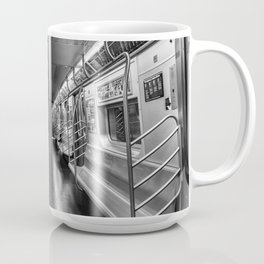 NYC subway N train Coffee Mug