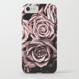 Vintage Rose Pink Roses iPhone Case